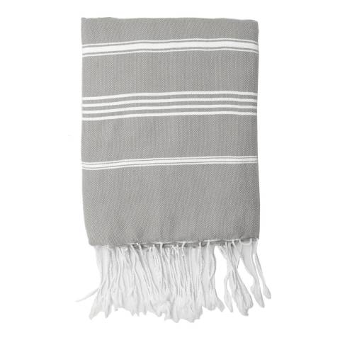 Febronie Mykonos Hammam Towel, Light Taupe