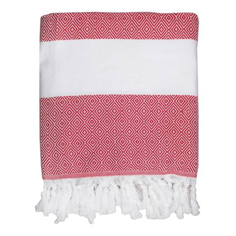 Febronie Courchevel Hammam Towel, Red