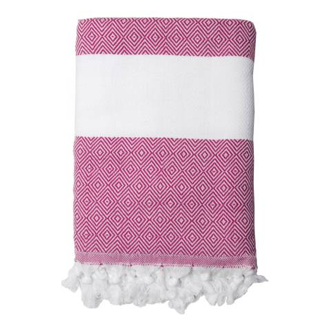 Febronie Courchevel Hammam Towel, Fuchsia