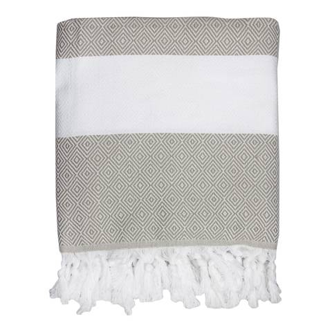 Febronie Courchevel Hammam Throw, Beige