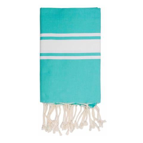 Febronie St Tropez Hammam Towel, Turquoise