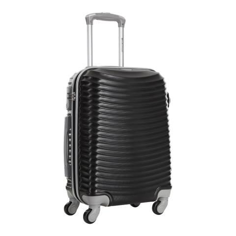 Platinium Black Worcester 4 Wheel Suitcase 70cm