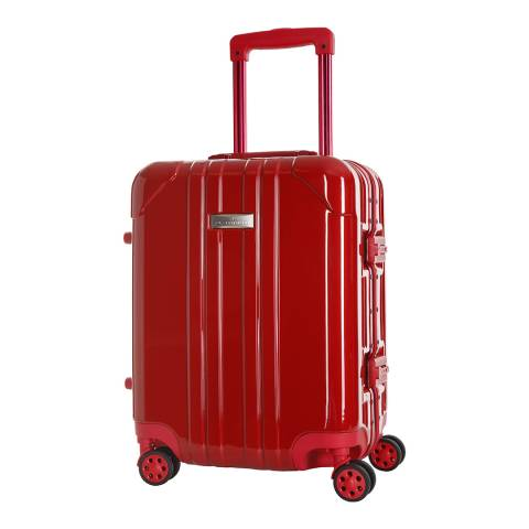 Platinium Red Keihley 8 Wheel Suitcase 70cm