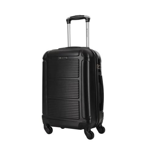Platinium Black Basildon 4 Wheel Suitcase 60cm
