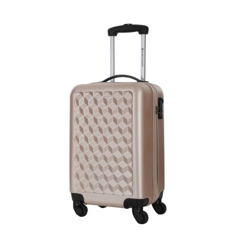 Platinium Beige Lawrence Spinner Suitcase 56cm