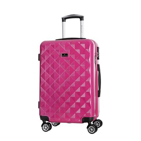 Platinium Rose Pink Gregoria Suitcase 60 cm