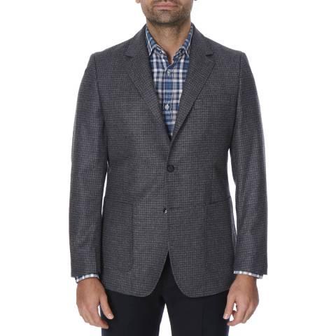Oliver Sweeney Grey Check Wingfield Wool Blazer