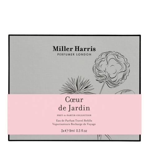 Miller Harris Coeur De Jardin 3 x 9ml