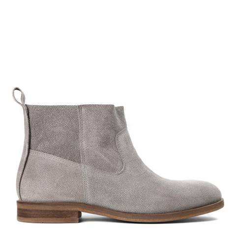 Hudson Grey Suede Odina Boots