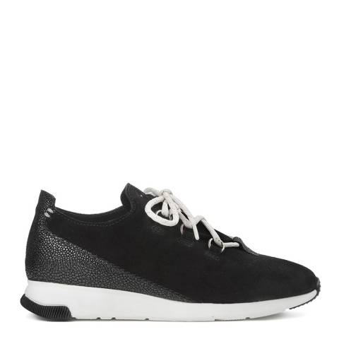 Hudson Black Leather Seville Sneakers