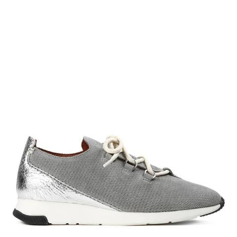Hudson Grey Suede Seville Sneakers
