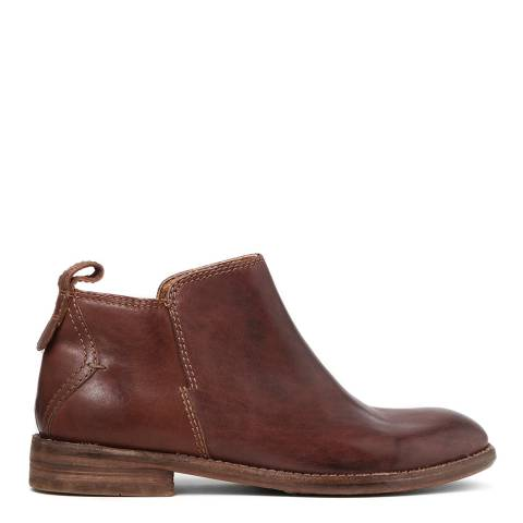 Hudson Chocolate Leather Revelin Boot
