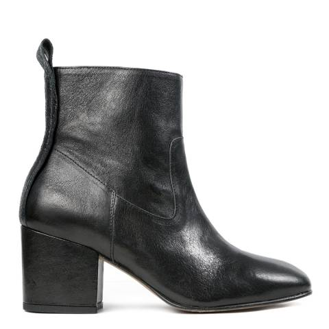 Hudson Black Leather April Boot