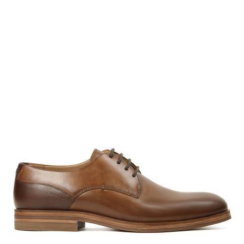Hudson Brown Leather Enrico Shoe