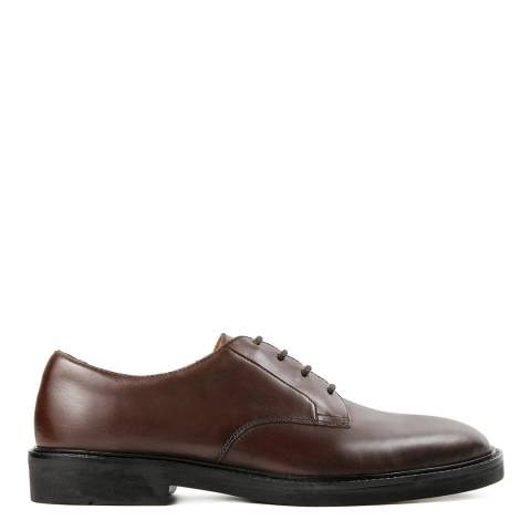 Hudson Brown Leather Ives Shoe