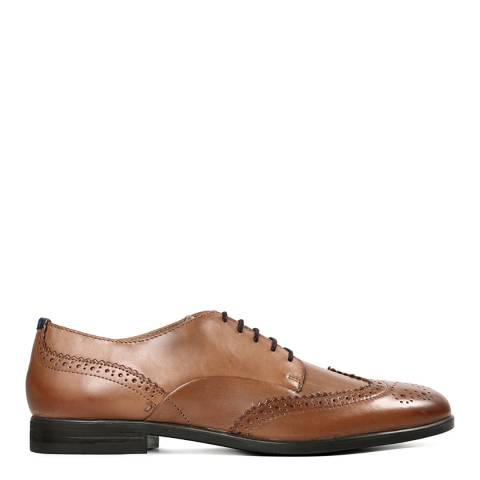 Hudson Tan Leather Indus Shoes