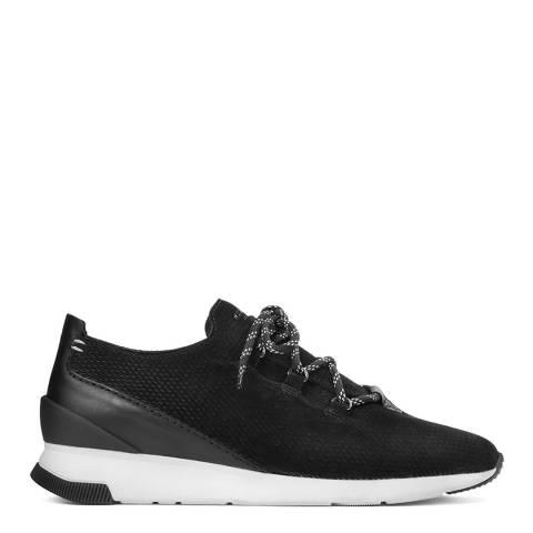Hudson Black Suede Trelawny Sneaker