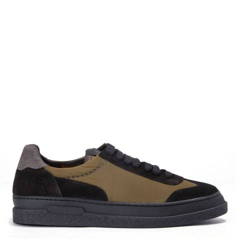 Hudson Black Nylon Atlantic Sneaker