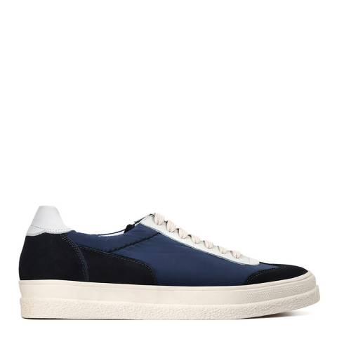 Hudson Navy Nylon Atlantic Sneaker