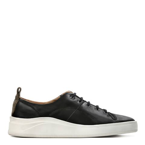 Hudson Black Leather Oyama Sneakers