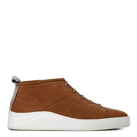 Hudson Red Magano Suede Sneaker