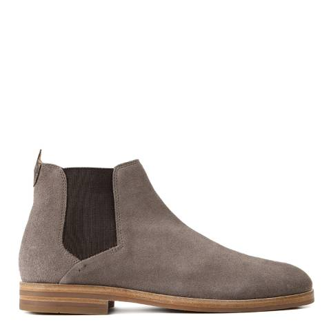 Hudson Taupe Suede Tonti Chelsea Boots