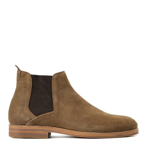 Hudson Tobacco Suede Tonti Chelsea Boots