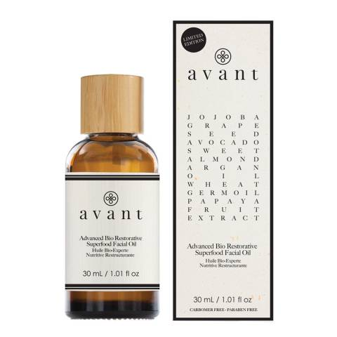 Avant Skincare Limited Edition Advanced Bio Anti-Ageing Superfood Facial Oil 30ml