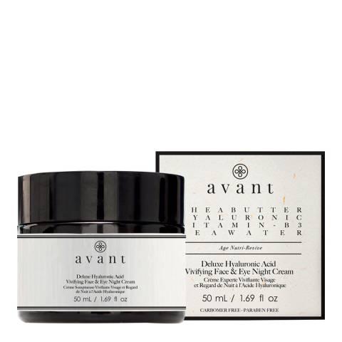 Avant Skincare Hyaluronic Acid Face and Eye Night Cream 50ml