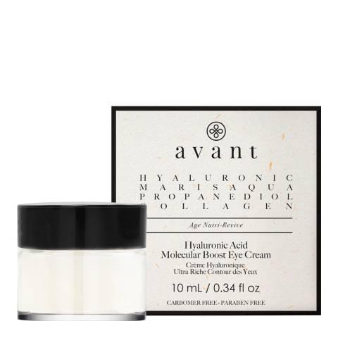 Avant Skincare Hyaluronic Acid Molecular Boost Eye Cream 10ml