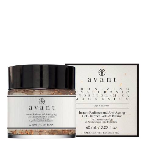 Avant Skincare Instant Radiance and Anti-Ageing Gel Charmer Gold and Bronze 50ml