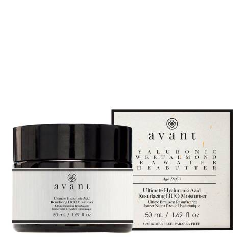 Avant Skincare Hyaluronic Acid Resurfacing DUO Moisturiser 50ml