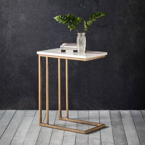Gallery Marble Cleo Supper Table