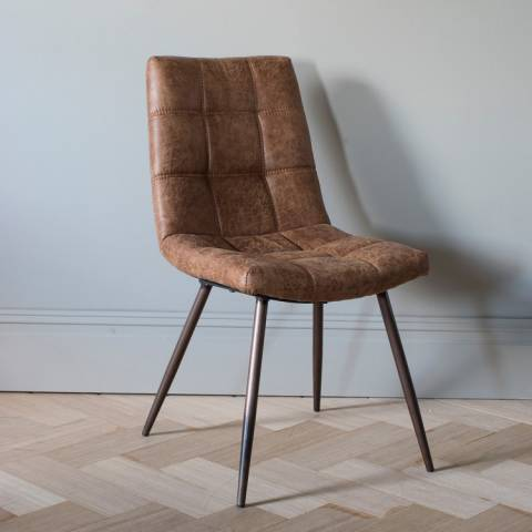 Gallery Set of 2 Brown Darwin Chairs