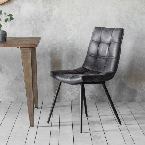 Gallery Set of 2 Grey Darwin Chairs