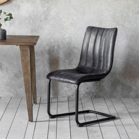 Gallery Set of 2 Grey Edington Chairs