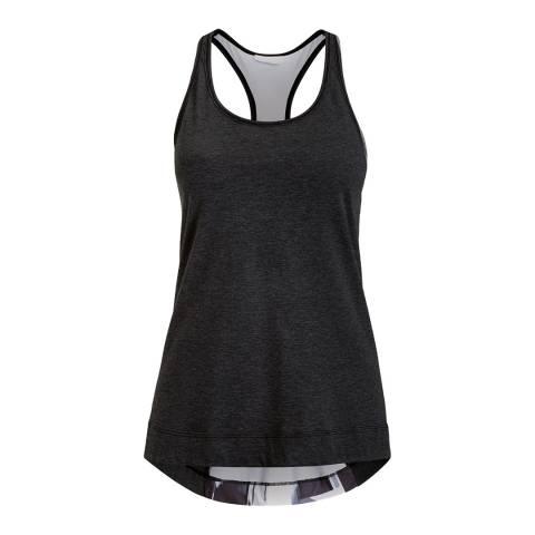BJORN BORG Women's Black/Grey Cheryl Loose Tank