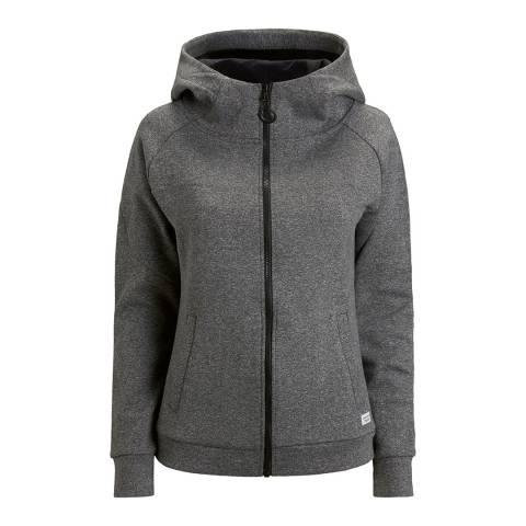 BJORN BORG Women's Grey Hoodie Dani Jacket