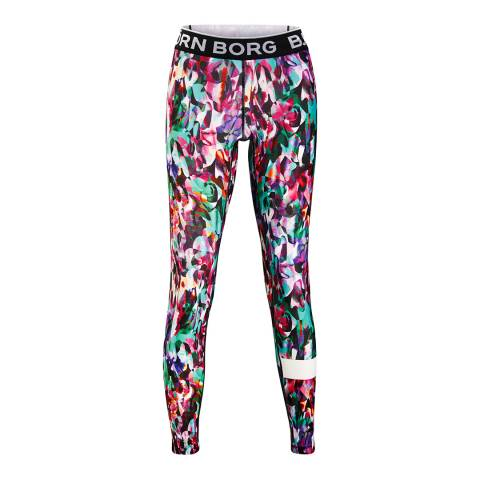 BJORN BORG Women's Multicoloured Celeste Tights