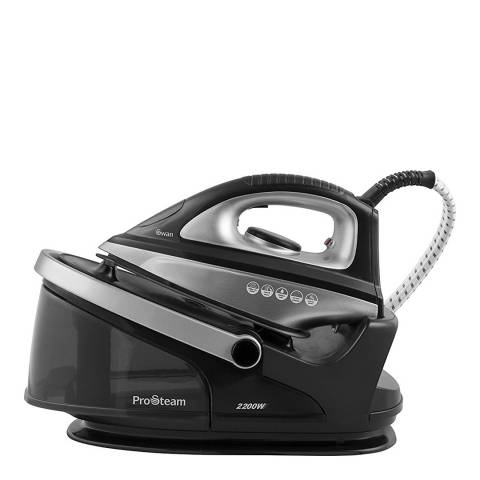 Swan Black Steam Generator Iron 2200W