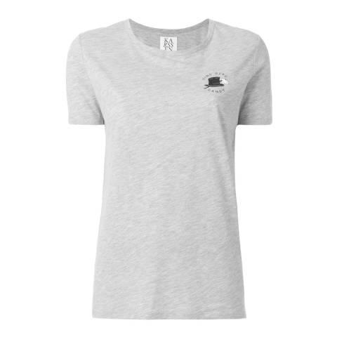 Zoe Karssen Grey Heather Ding Dong Dandy T-Shirt
