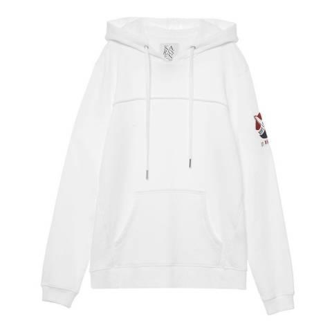 Zoe Karssen White Vers La Lune Sweatshirt