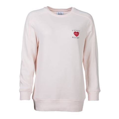 Zoe Karssen Rose Create And Destroy Sweatshirt