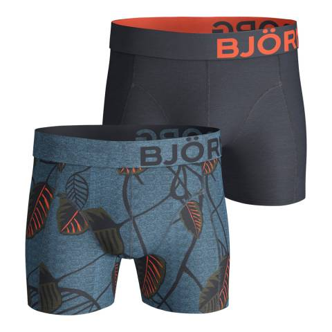 BJORN BORG Men's Nature 2-Pack Boxer Shorts