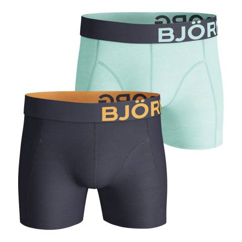 BJORN BORG Men's Seasonal 2-Pack Boxer Shorts