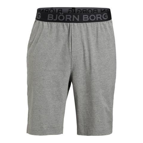 BJORN BORG Men's Grey Seasonal Shorts