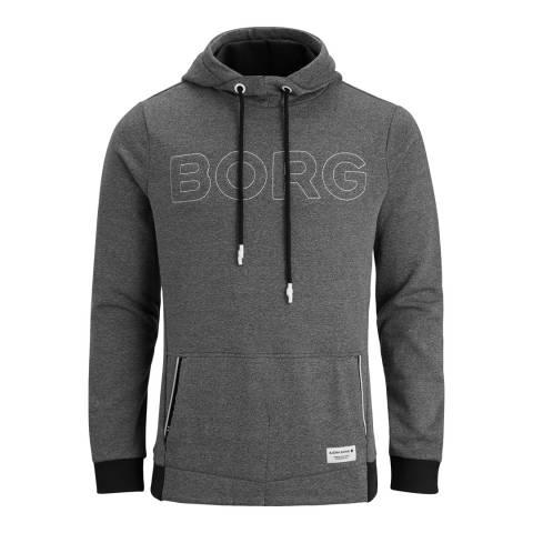 BJORN BORG Men's Grey Hood Brook