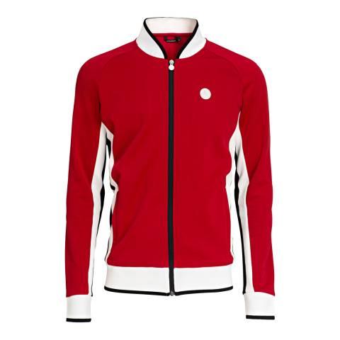 BJORN BORG Men's Red Signature Track Jacket
