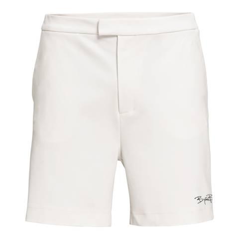 BJORN BORG Men's White Signature Shorts