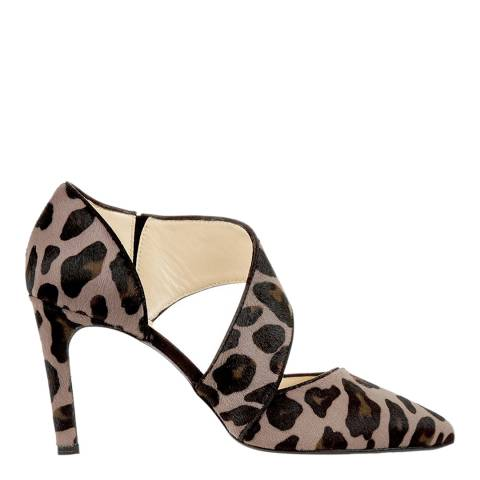 Hobbs London Mink Leopard Erin Shoe